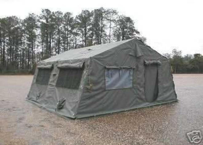 This is new (Post Cold War, 1990s new) expandable tent