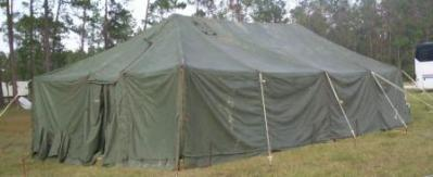 GP MEDIUM TENT (View Details) 16u0027X32u0027 10u00273  RIDGE HEIGHT 5u00278u0027u0027 ROLL-UP WALLS 6u00272  DOORS 2 STOVE JACKS VENTILATION u0026 SKYLIGHT WINDOWS & U.S. Largest Surplus Military Tents Stockpile