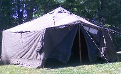 GPS TENT 17u00276  SIX SIDED (View Details) 10u00273  DOME HIGHT 5u00271  WALLS 7u0027 SCREENED ZIP-UP DOORS. STOVE JACK. MULTIPLE TENTS CAN BE LACED TOGETHER. & U.S. Largest Surplus Military Tents Stockpile