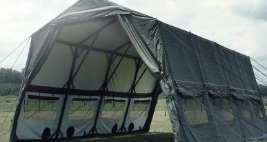 & U.S. Largest Surplus Military Tents Stockpile