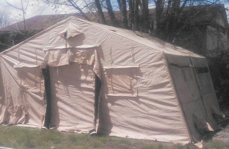 320u0027 Length. & Temper Tent expandable modular