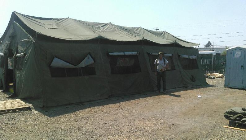 Temper Tent, expandable modular