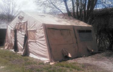 Temper Tent Expandable Modular