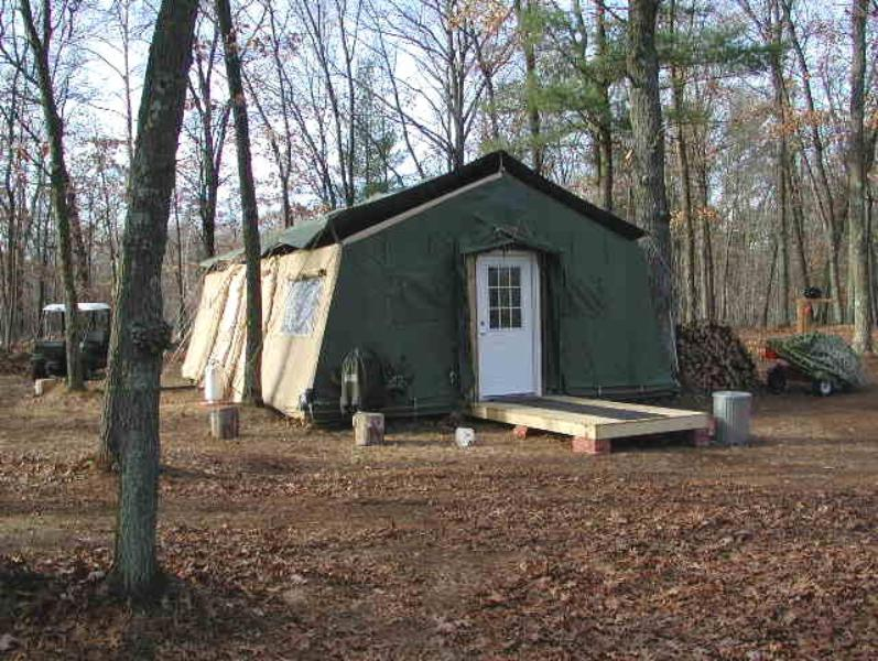 & Temper Tent expandable modular